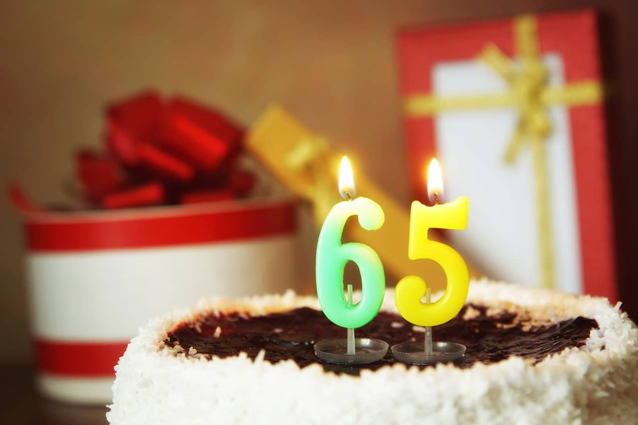 65th Birthday Medicare Insurance Time